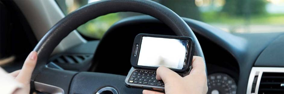 Texting while driving is illegal in Florida